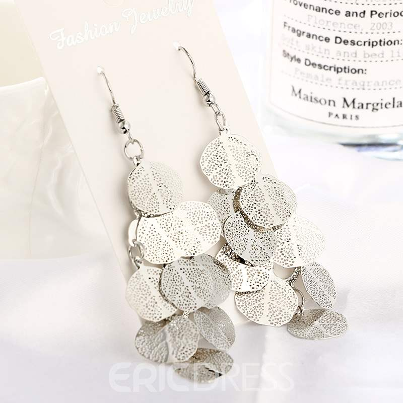 Ericdress Lush Leaves Drop Earring