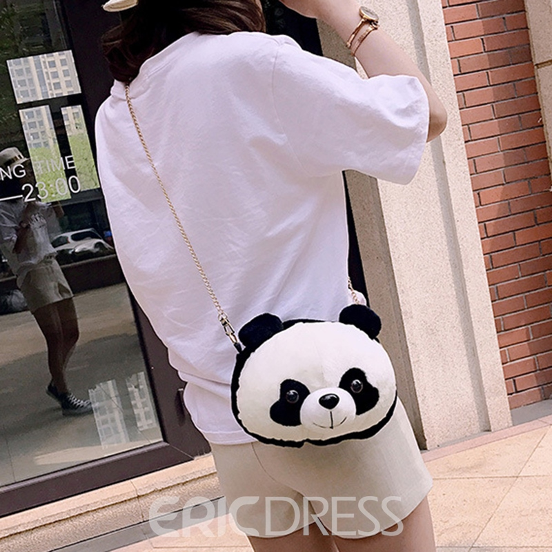 Ericdress Cute Panda Crossbody Bag