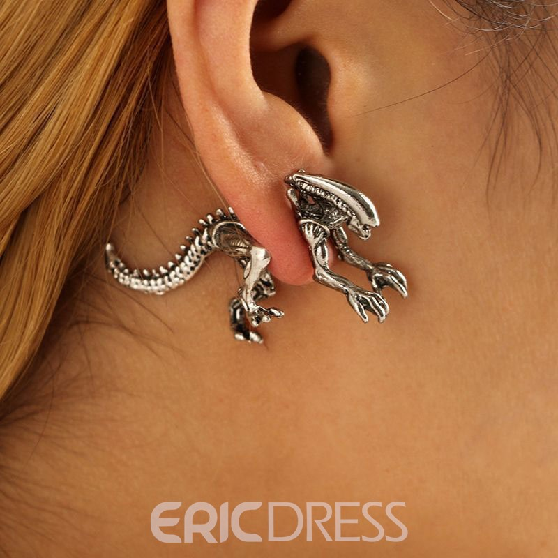 Ericdress Dinosaur Animal Stud Earring