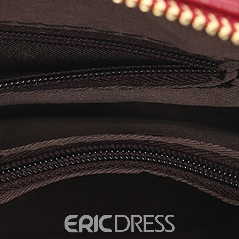 Ericdress Rivets Adornment Chain Handbag