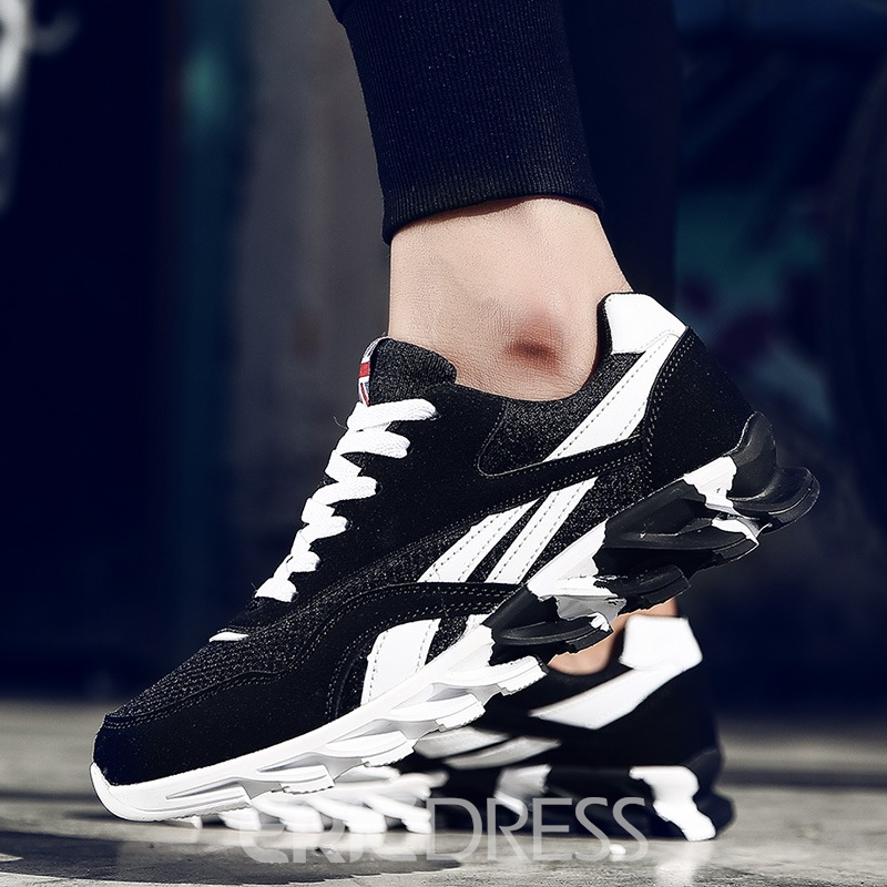 Ericdress Mesh Patchwork Lace-Up Men's Athletic Shoe