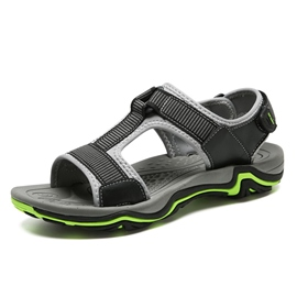 Ericdress Velcro Patchwork Open Toe Men's Sandals