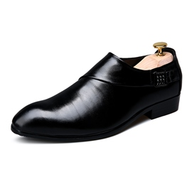 Ericdress PU Professional Slip-On Round Toe Men's Oxfords