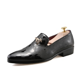 Ericdress Plain Slip-On Round Toe Low-Cut Men's Oxfords