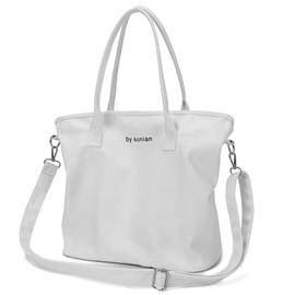 Ericdress Simple style Solid Color Letter Tote Bag