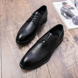Ericdress Brush Off Round Toe Lace-Up Men's Oxfords
