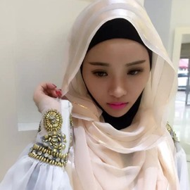 Ericdress Muslim Head Wrap Scarf Shawl
