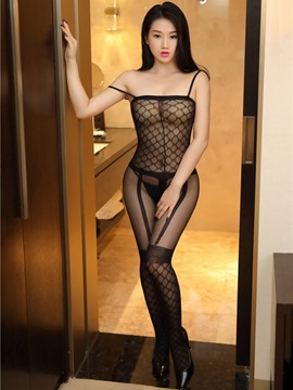 Ericdress Fishnet Sexy See-Through Fishnet Thin Pantyhose Bodystocking