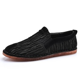 Ericdress Sewing Slip-On Flat Heel Men's Shoes