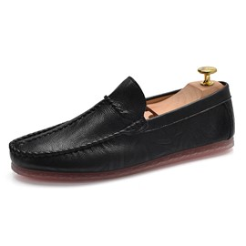 Ericdress PU Thread Slip-On Low-Cut Men's Shoes