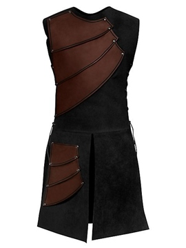 ericdress side strappy coffee mens traje medieval de la etapa