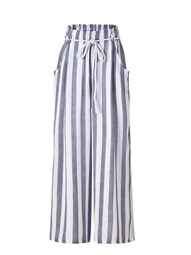 Ericdress Loose Striped Women's Palazzo Pants