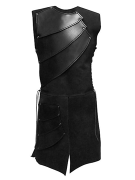 Ericdress Side Strappy Black Mens Medieval Stage Costume