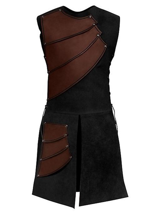 Ericdress Side Strappy Coffee Mens Medieval Stage Costume