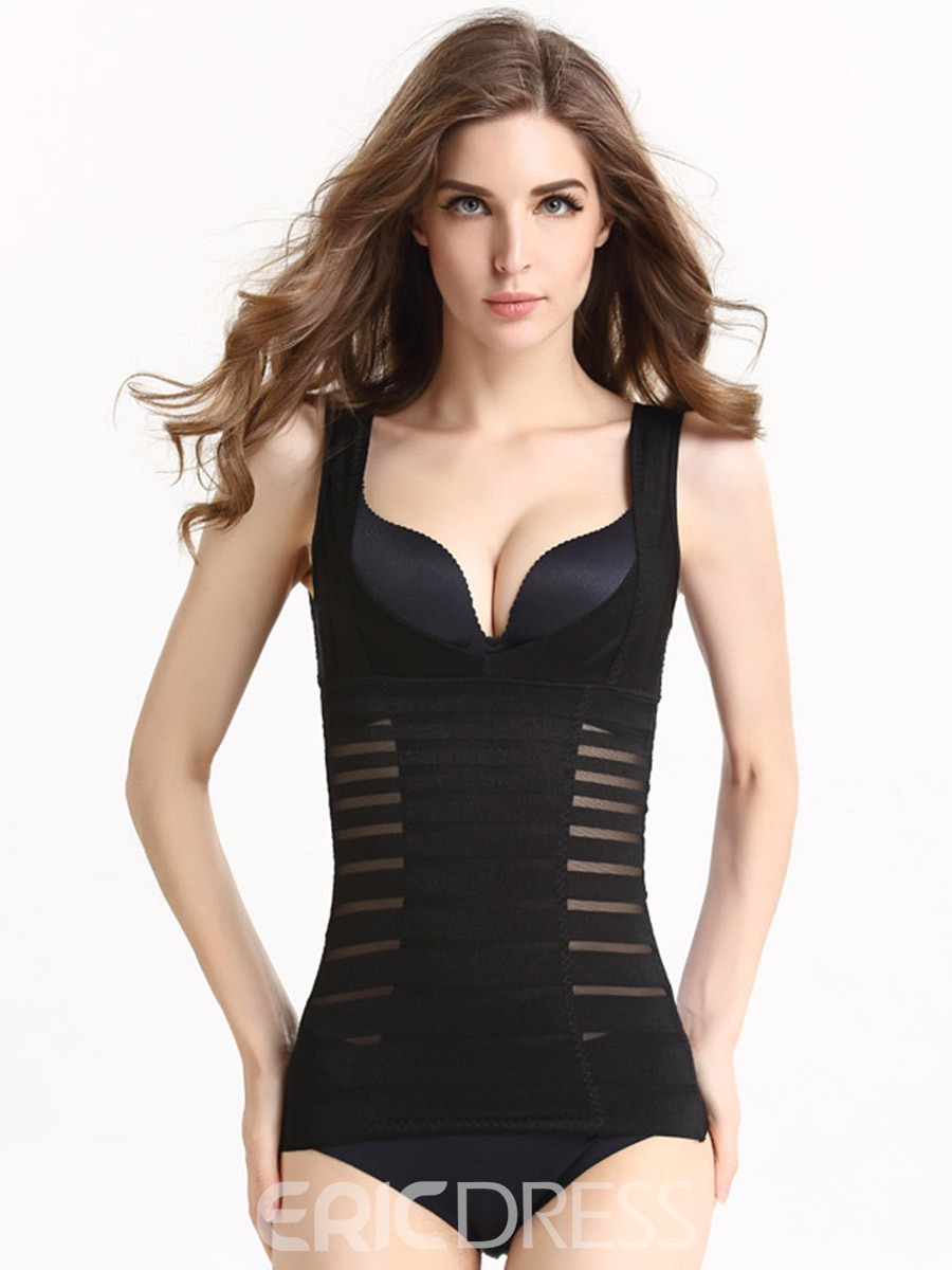 Ericdress Seamless Stripe Thin Shaping Jacquard Breathable Bralet