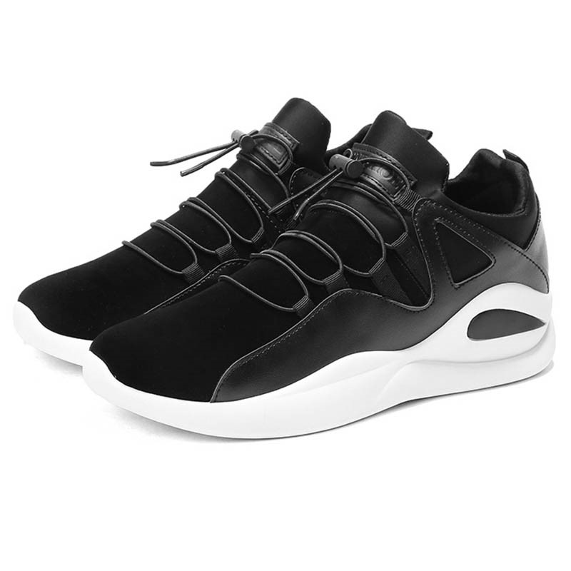 Ericdress Plain Elastic Band Low-Cut Men's Athletic Shoes