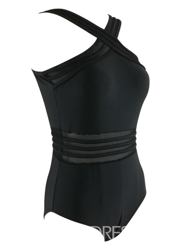 High Waist Plus Size Sexy Monokini