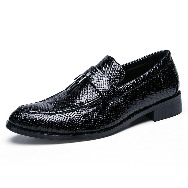 Ericdress Fringe Slip-On Round Toe Low-Cut Men's Oxfords