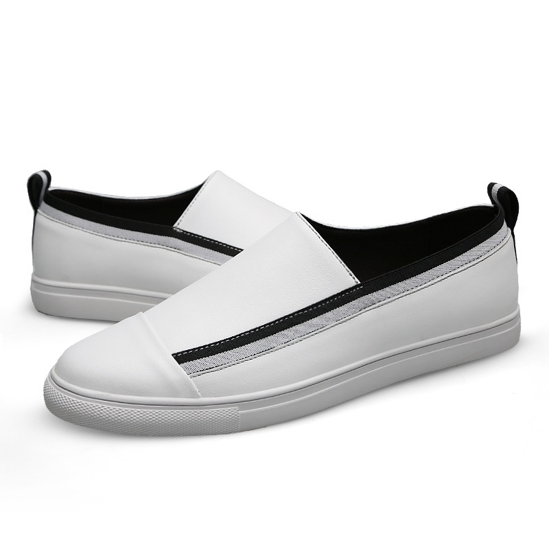 Ericdress PU Slip-On Round Toe Men's Casual Shoes