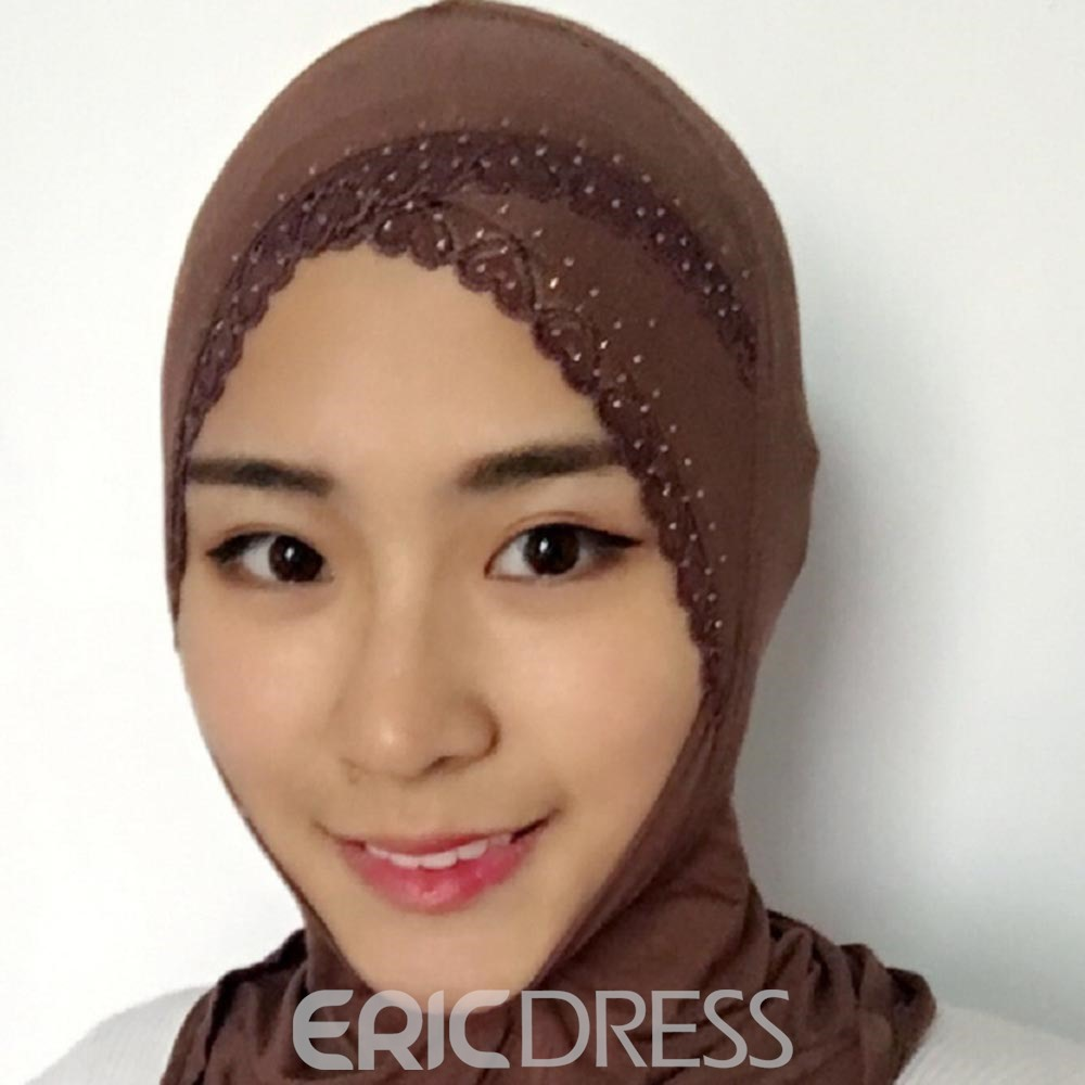 Ericdress Muslim Head Scarf Shawl