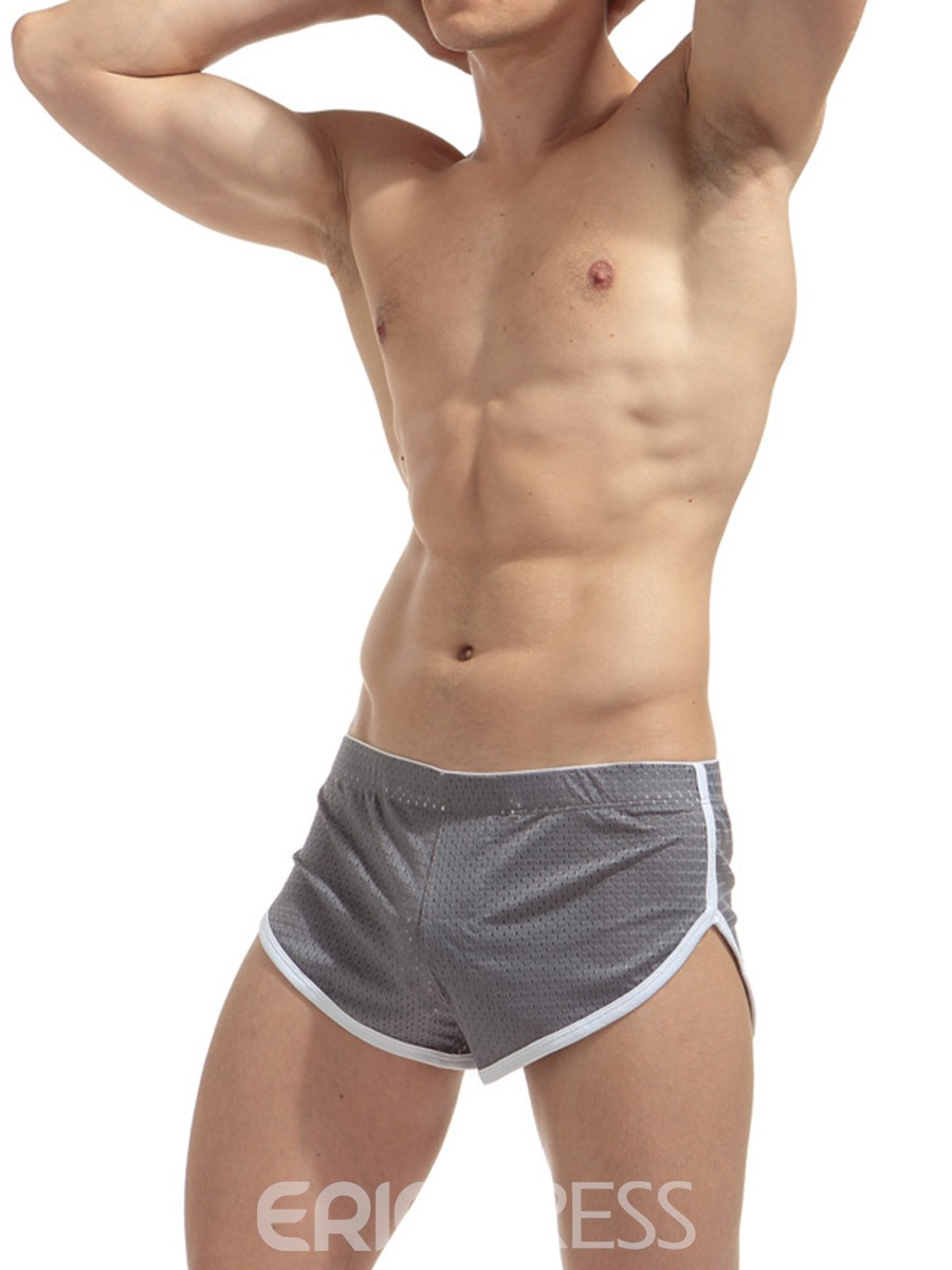 Ericdress Breathable Mid-Waist Hollow Men's Boxer Briefs