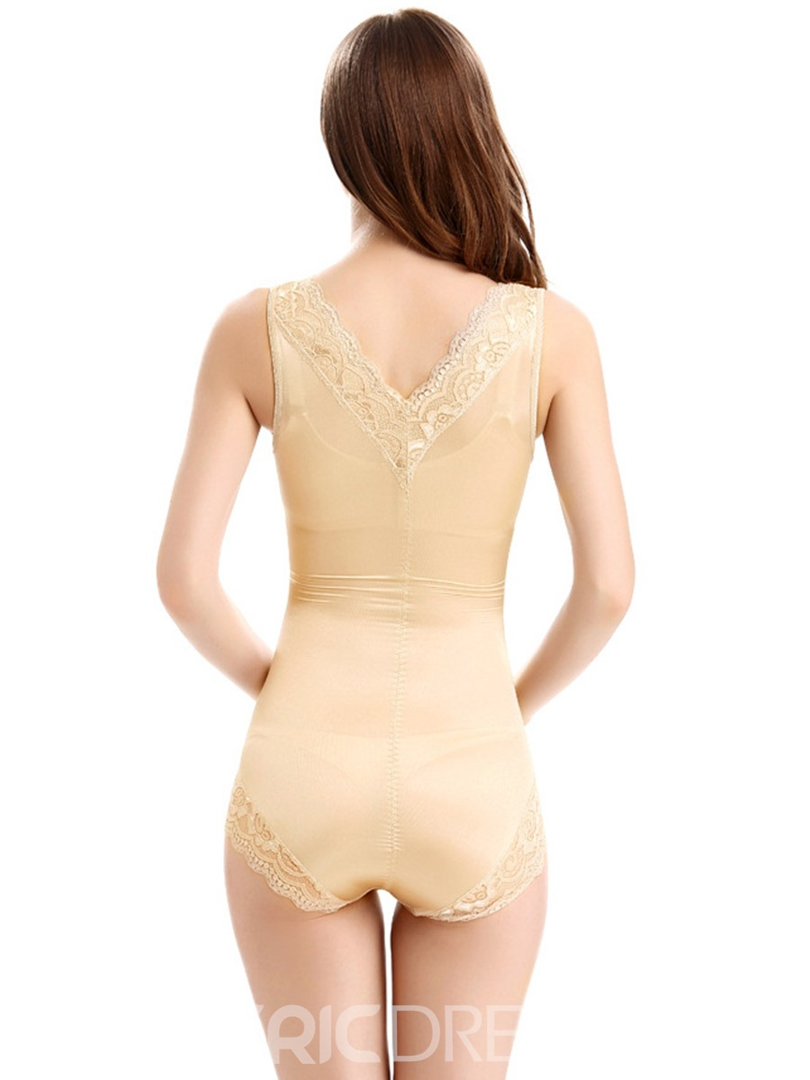 Ericdress Lace Abdomen Shaping Breathable Shapewear Bodysuit