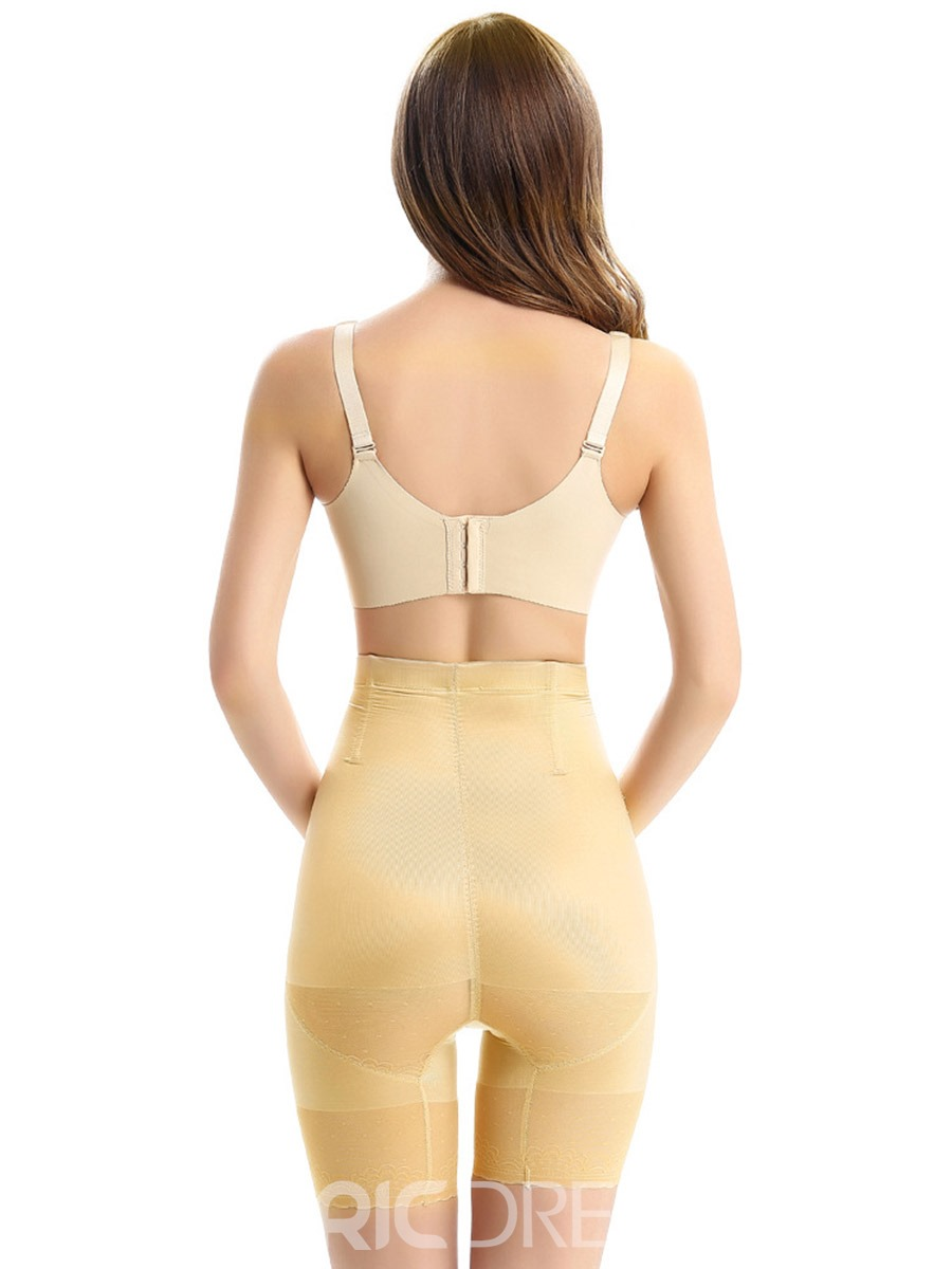 Ericdress High Waist Abdomen Hip-lifting Stretchy Ice Silk Panty