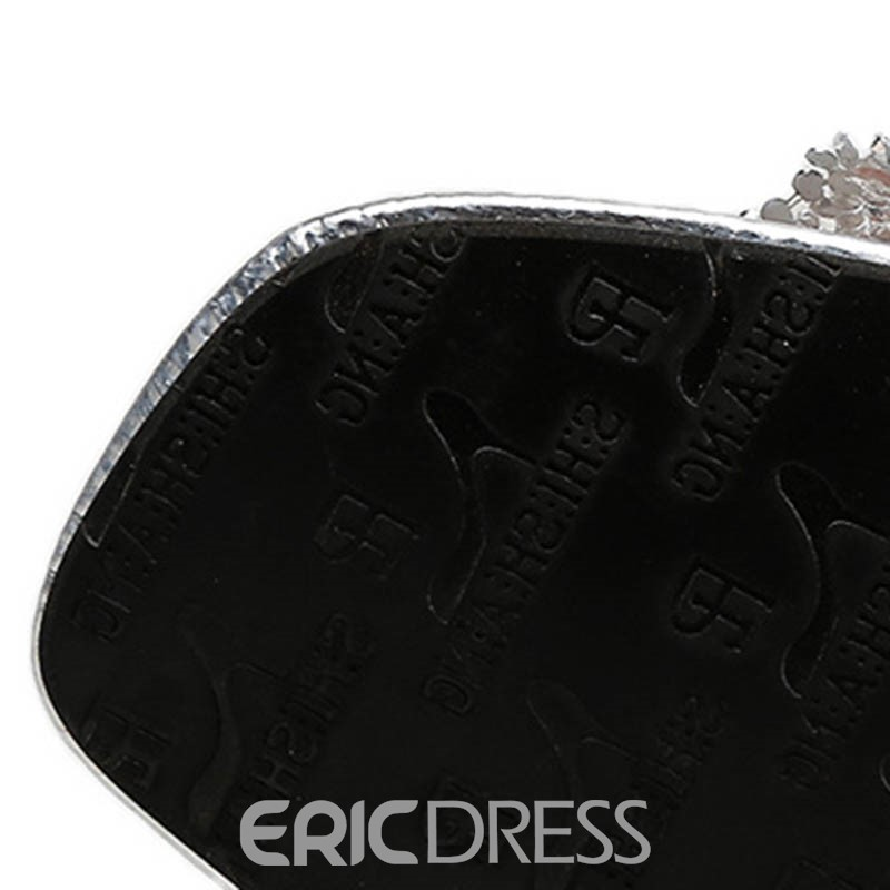 Ericdress Sequin Slip-On Chunky Heel Mules Shoes