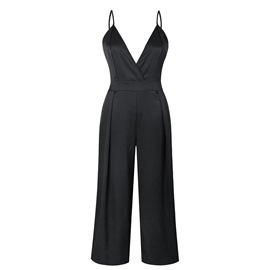 Ericdress Backless Sexy Bowknot Women's Jumpsuits