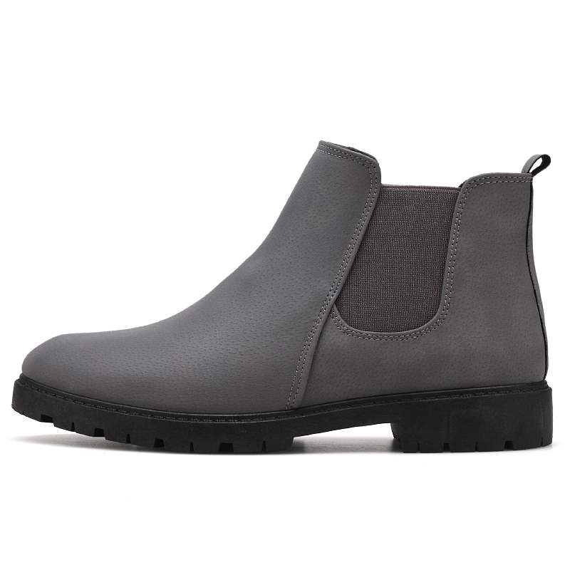 Ericdress Fashion Ankle Slip-On Men's Boots