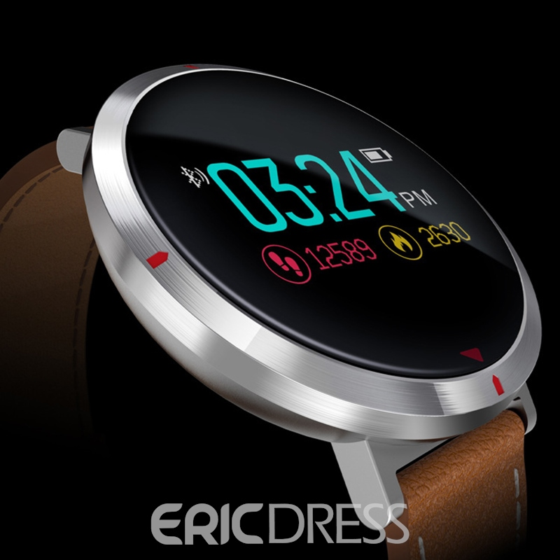 Ericdress S2 Color Screen Smart Bracelet Step Heart Rate Blood Pressure Povement Round Waterproof Bluetooth Smart Watch