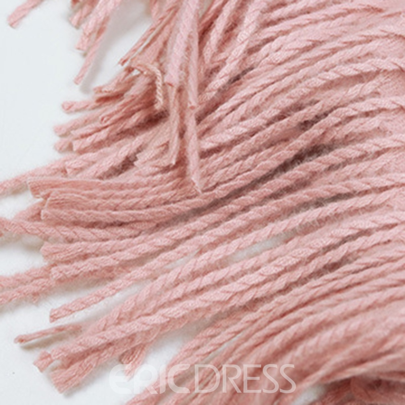 Ericdress Imitation Cashmere Solid Color Scarf