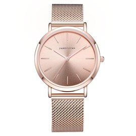 Ericdress Waterproof Steel Band Watch For Women