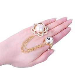 Ericdress Pearl Flower Flower Ring