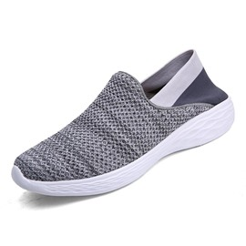 Ericdress Mesh Slip-On Round Toe Men's Casual Shoes