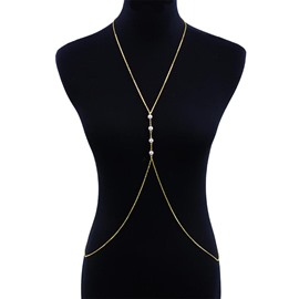 Ericdress Minimalist Body Chain Pendant Necklace