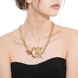 Ericdress Scorpion Alloy Pendant Necklace