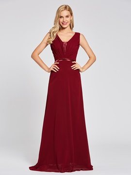 Ericdress A Line Chiffon Evening Dress