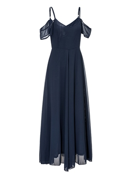 Ericdress Chiffon V-Neck Ankle-Length Casual Dress