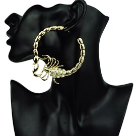 Ericdress Scorpion Hoop Earrings