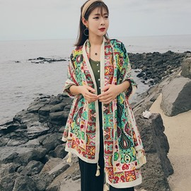 Ericdress Ethical Styles Chiffon Printing Shawl