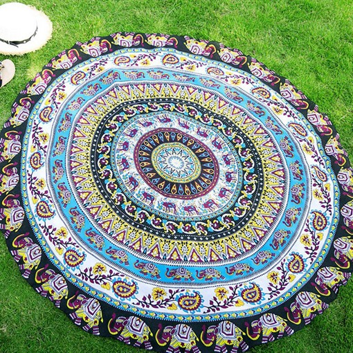Ericdress Beach Round Shawl