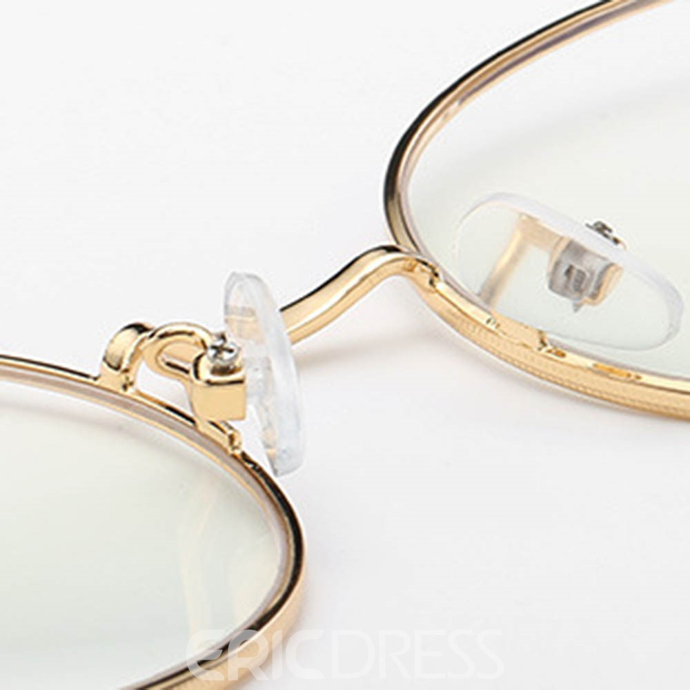 Ericdress Round Unisex Glasses For Men