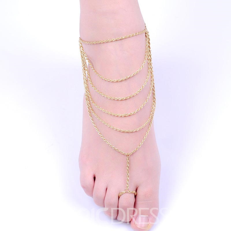 Ericdress Chains Fashion Anklets