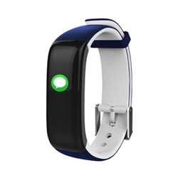 Ericdress P1 Plus Color Screen Heart Rate Health Large Screen Sport Bluetooth Smart Bracelet Watch