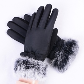 Ericdress Lady Winter Thickened Gloves