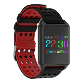 Ericdress R11 Color Heart Rate Blood Pressure Call Message Reminder Smart Watch For Men/Women