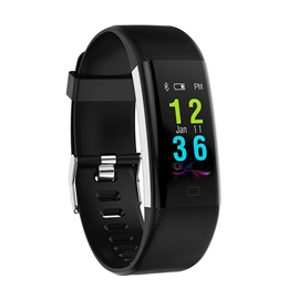 Ericdress F07 Plus Color Screen Smart Bracelet Heart Rate Health Bluetooth Watch