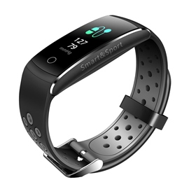 Ericdress Q8 Bluetooth Bracelet Heart Rate Blood Pressure Waterproof Bracelet Smart Watch