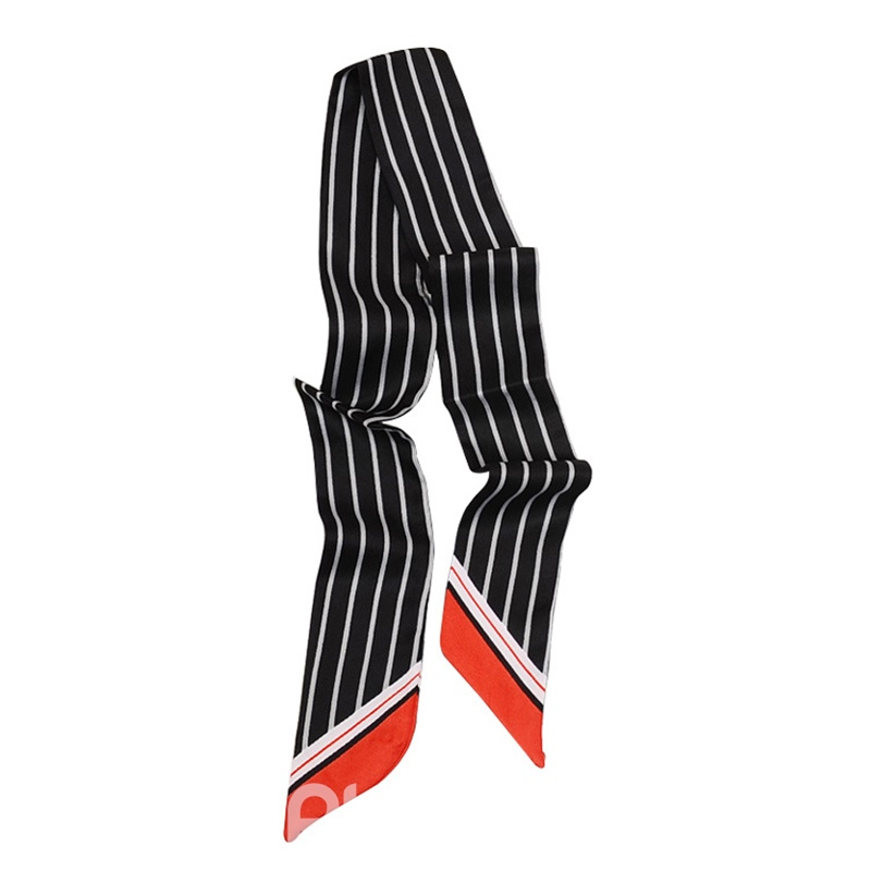 Ericdress Double Printing Stripe Head Bag Scarf For Women